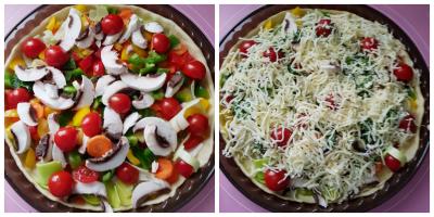 Gemüsekuchen/Gemüsetarte