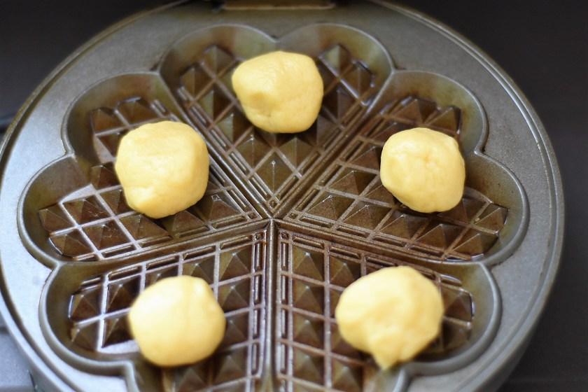 Waffeln Kekse