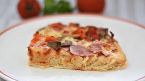 fluffiger Pizzateig