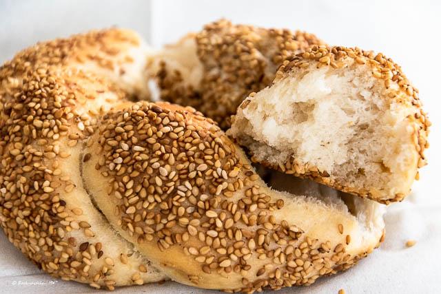 türkische Sesamringe