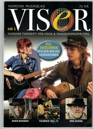 Visor Nordisk tidskrift för singer/songwriters nr 5 2015