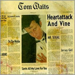 CD Tom Waits Heartattack and wine