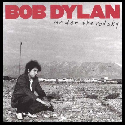 CD Bob Dylan Under the red sky