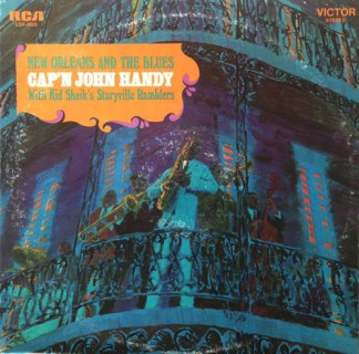 Cap'N John Handy With Kid Sheik's Storyville Ramblers ‎– New Orleans And The Blu