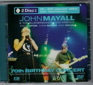 CD John Mayall & The Bluesbreakers & Friends 70th birthday concert