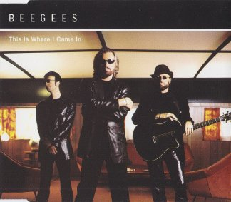 CD-singel Bee Gees This is where I came in