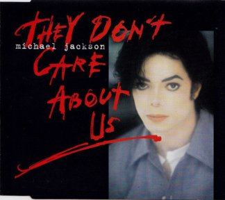 CD-singel Michael Jackson They don't care about us