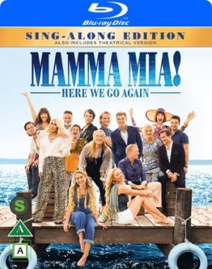 Blue Ray Mamma Mia Here we go again - Sing along edition
