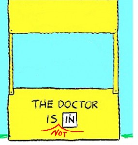 the_doctor_is_not_in