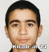 Image: Omar Khadr at 14