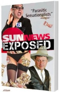 """Fictitious """"Sun News Exposed"""" cover"""