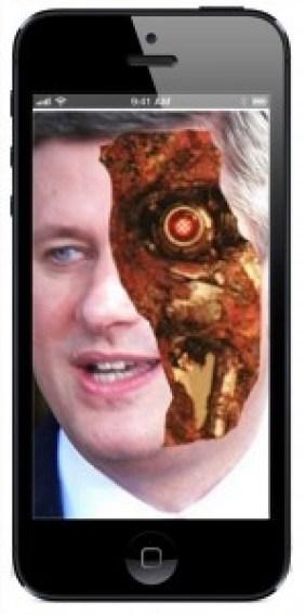 Harper on iPhone
