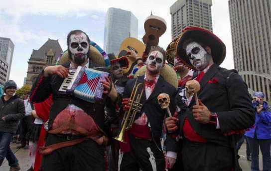 Toronto zombie musicians