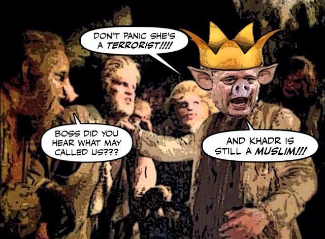 Cartoon: Stephen Harper with mutants