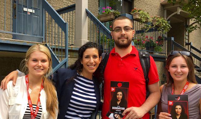 Katrina, Bendayan, and more campaign volunteers