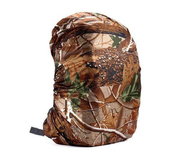 Waterproof Backpack Cover Accessories Leaves Camouflage 80L