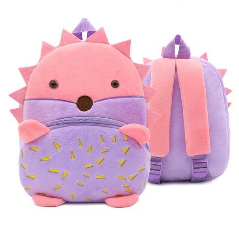 Children small school animal backpack Backpack Hedgehog