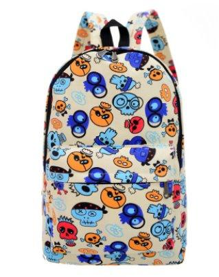 Casual men's and women's Canvas backpack Backpack 11