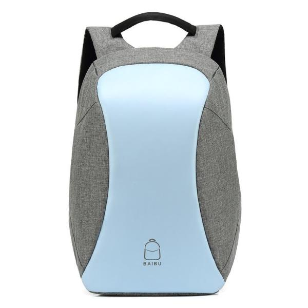 Multifunctional Laptop Backpack With USB Charge Backpack Blue