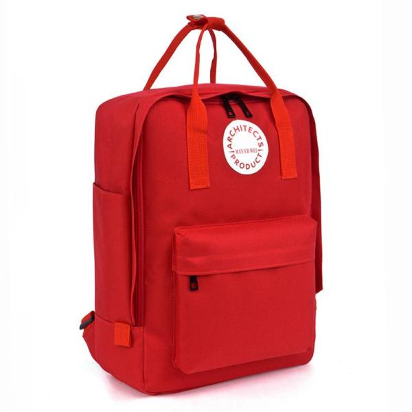 New fashion Men and Women School Backpack Backpack Red