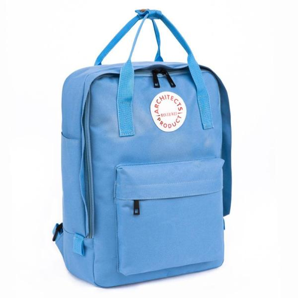 New fashion Men and Women School Backpack Backpack Sky blue
