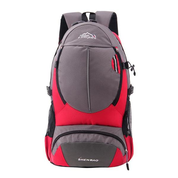Outdoor Travel bag leisure Sports backpack Backpack Red