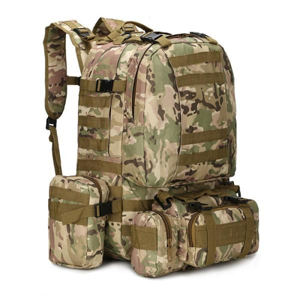 Outdoor Camouflage Tactical Travel Bacpack Backpack CP Camo
