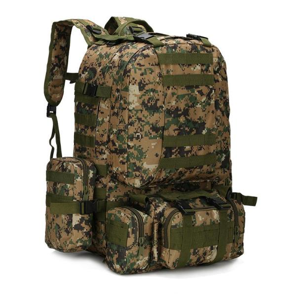 Outdoor Camouflage Tactical Travel Bacpack Backpack Jungle digital