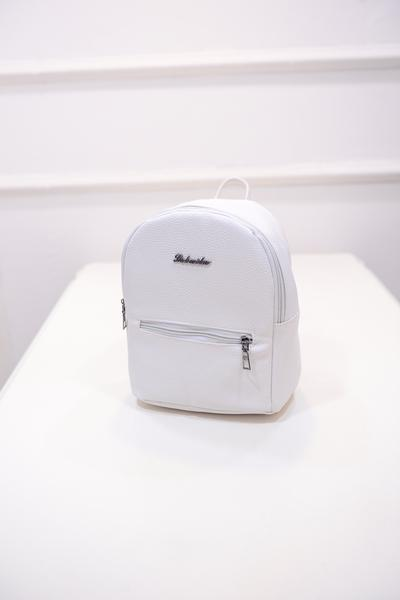 Candy color small Women backpack Backpack White
