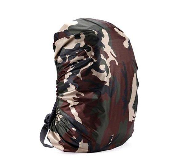 Waterproof Backpack Cover Accessories Green Camouflage 55 60L