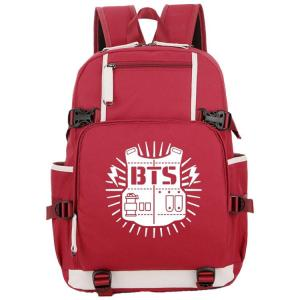 Bulletproof Youth Student Backpack Backpack Red