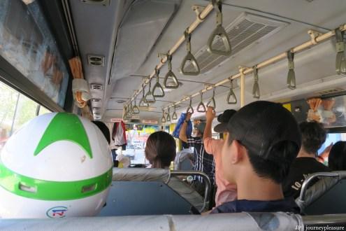 Local Bus von Da Nang nach Hoi An
