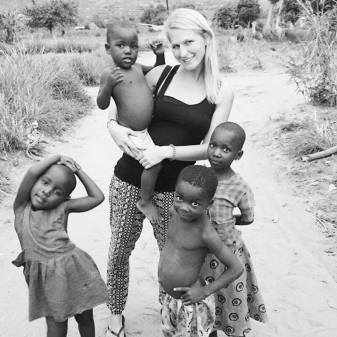 Allein Frau backpacken Afrika9