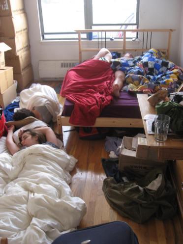 New York Schlafzimmer 2