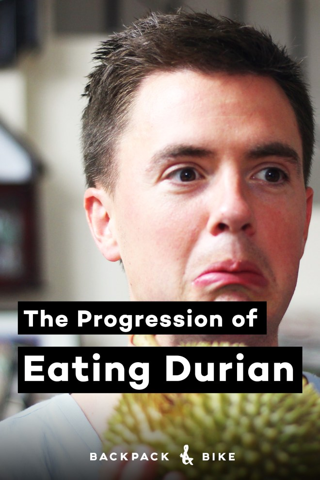 What happens when a Canadian boy tries Durian for the first time?