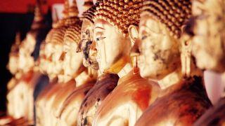 タイ・バンコクの仏像