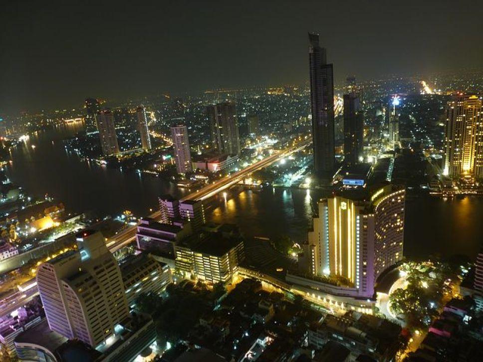 タイ・バンコクの夜景