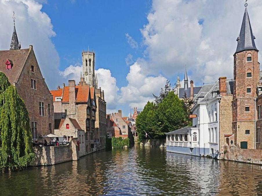 ベルギー(ブリュージュ)は絵画の様な街並