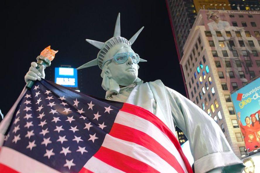 ニューヨークの個性的な人たちを見て歩くのも楽しい!