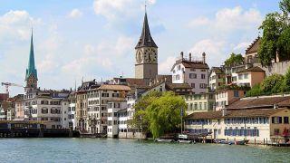 スイス最大の都市チューリッヒ