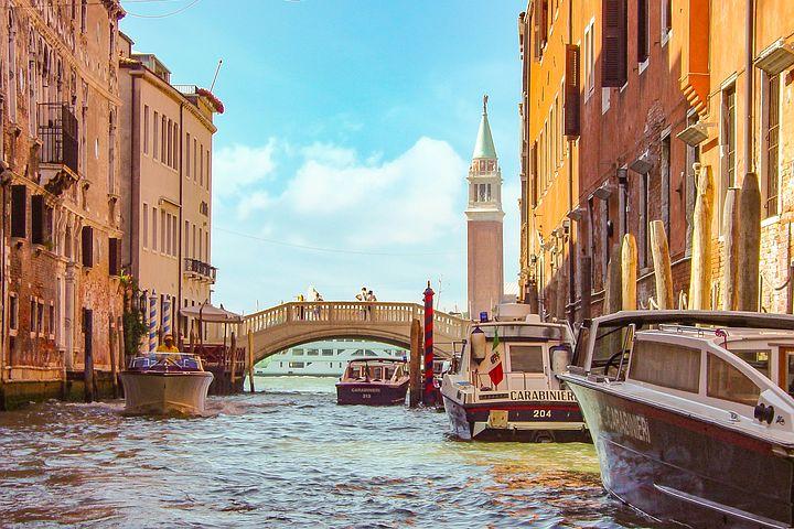 ヴェネチアの風景