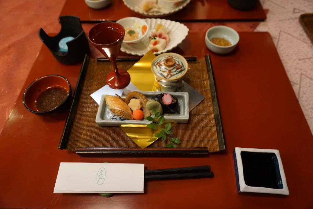 旬の食材を使った展望レストラン『天望』