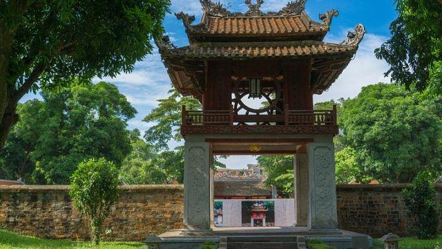 ベトナムの首都ハノイ