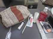Business Class amenity kits