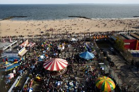 Coney Island is a great getaway from the city lights!
