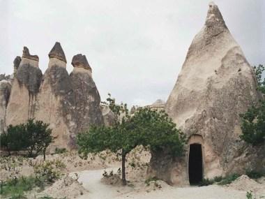 Goreme open air museum in Cappadoccia, Turkey