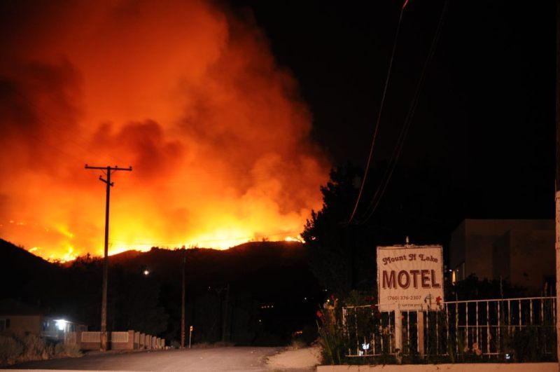 Pożar Wofford Heights