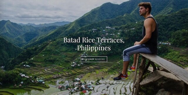 Batad Rice Front