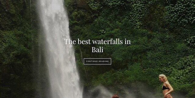bali water front