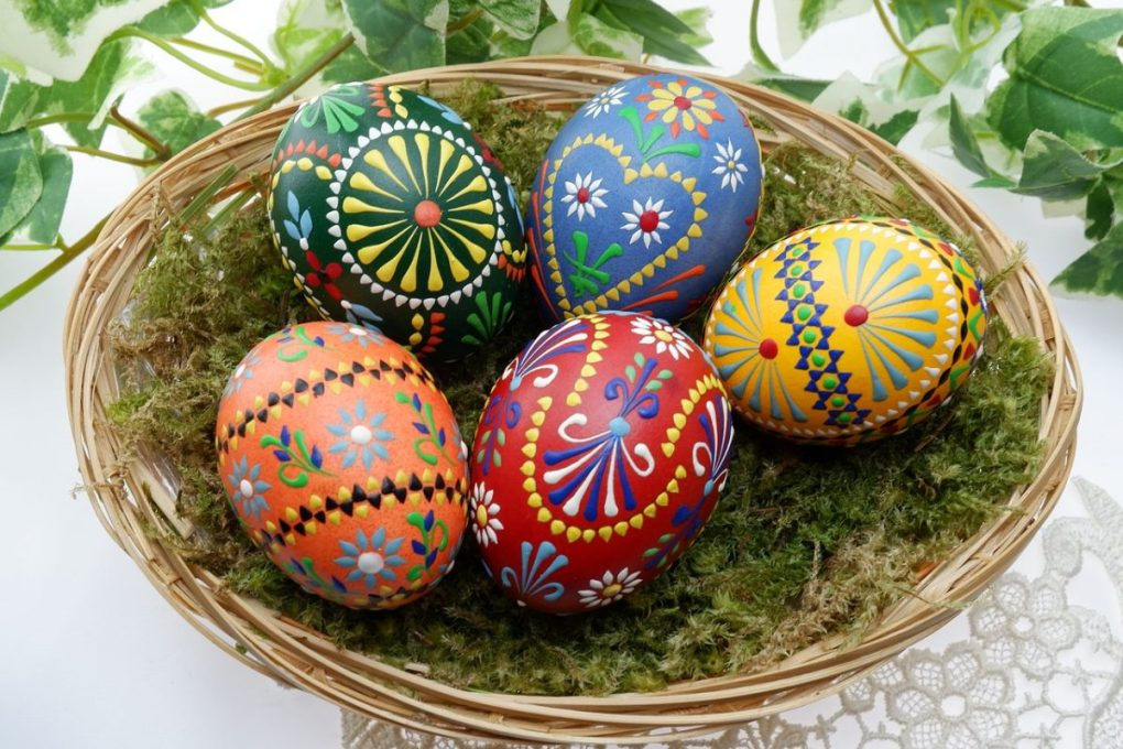 polish souvenirs easter eggs